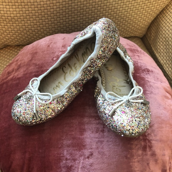Felicia Glitter Ballet Flats